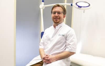 De patiënt geeft zelf aan of de psoriasis mild of ernstig is